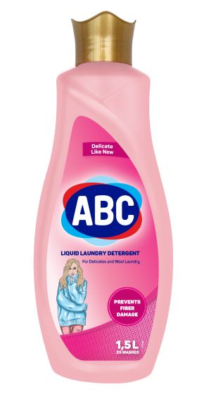 ABC Liquid Laundry Detergent for Delicate and Wooly Clothes