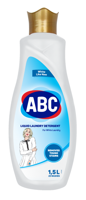 ABC Liquid Laundry Detergent for Whites