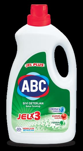 ABC Jel Plus Sıvı Deterjan Bahar Ferahlığı