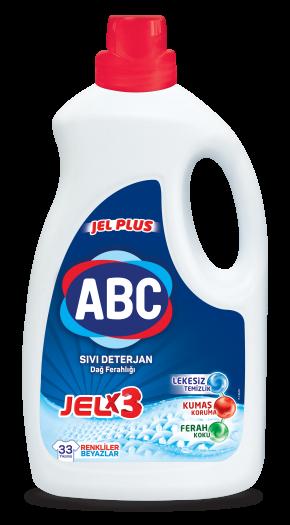 ABC Jel Plus Sıvı Deterjan Dağ Ferahlığı
