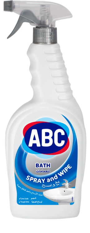 ABC Spray & Wipe Bath