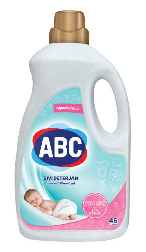 ABC Sıvı Çamaşır Deterjanı Hassas Ciltlere Özel
