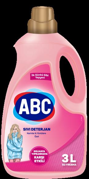 ABC Sıvı Çamaşır Deterjanı Narinlere ve Yünlülere Özel